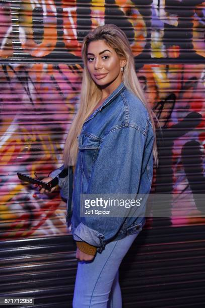 Chloe Ferry poses during the House of MTV event as part of MTV Music Week at Hackney House on November 8 2017 in London England The MTV EMAs 2017...
