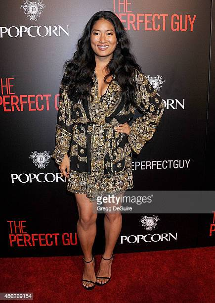 Chloe Flower arrives at the premiere of Screen Gems' 'The Perfect Guy' at The WGA Theater on September 2 2015 in Beverly Hills California