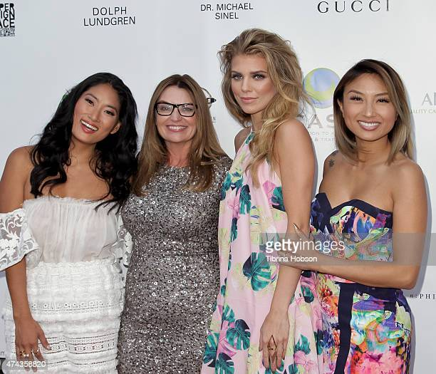 Chloe Flower Kay Buck AnnaLynne McCord and Jeannie Mai attend the 17th annual CAST from slavery to freedom gala May 21 2015 in Los Angeles California