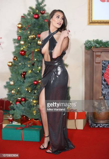 Chloe Goodman attends the World Premiere of Surviving Christmas With The Relatives at Vue West End on November 21 2018 in London England