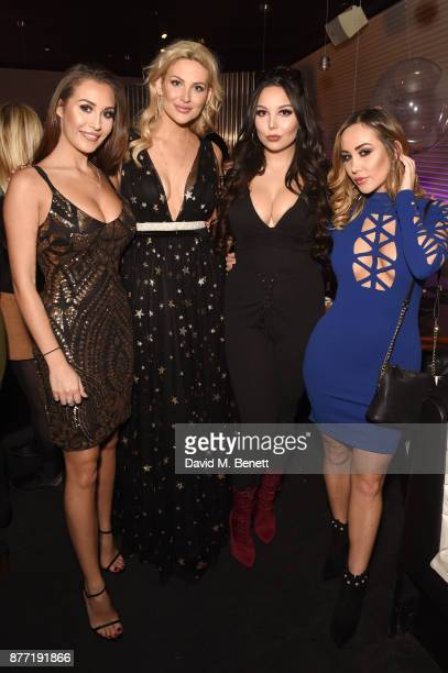 Chloe Goodman Stephanie Pratt Amelia Goodman and Lauryn Goodman attend the launch of the Louise Thompson x LOTD collection at ME Hotel on November 21...