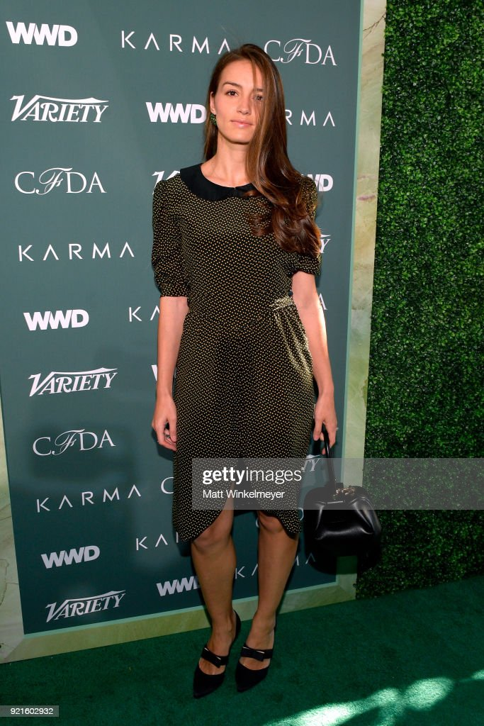 Chloe Gosselin attends the Runway To Red Carpet, hosted by Council of Fashion Designers of America, Variety and WWD at Chateau Marmont on February 20, 2018 in Los Angeles, California.