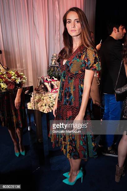 Chloe Gosselin designer at the Chloe Gosselin Presentation September 2016 MADE Fashion Week at MADE at Milk Studios on September 11 2016 in New York...