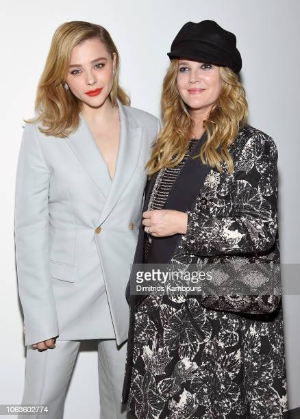 Chloe Grace Moretz and Drew Barrymore attend The Museum Of Modern Art Film Benefit Presented By CHANEL A Tribute To Martin Scorsese on November 19...