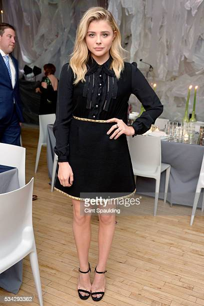 Chloe Grace Moretz attends 2016 High Line Spring Benefit at The High Line on May 23 2016 in New York City