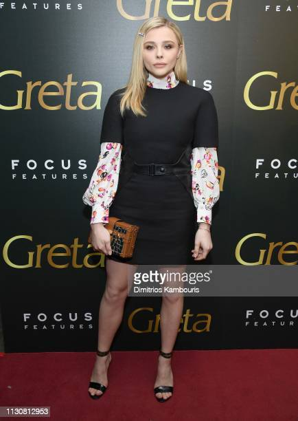 Chloe Grace Moretz attends a special screening of Greta at Metrograph on February 19 2019 in New York City