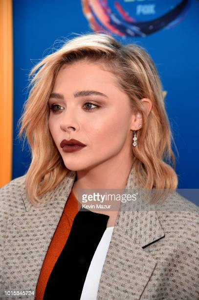 Chloe Grace Moretz attends FOX's Teen Choice Awards at The Forum on August 12 2018 in Inglewood California