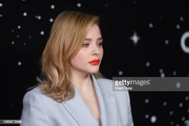 Chloe Grace Moretz attends the 2018 Museum of Modern Art Film Benefit A Tribute To Martin Scorsese at Museum of Modern Art on November 19 2018 in New...