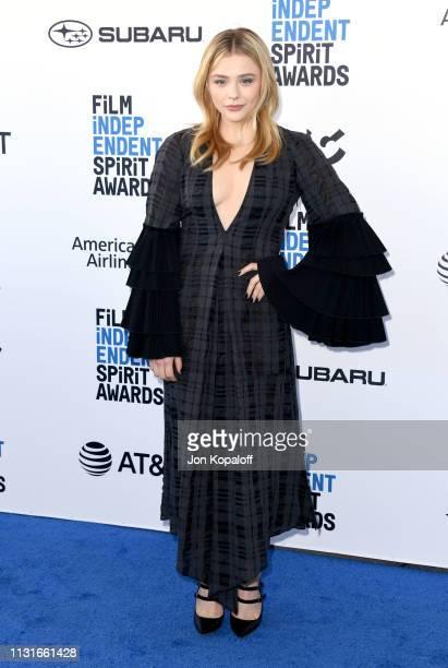 Chloe Grace Moretz attends the 2019 Film Independent Spirit Awards on February 23, 2019 in Santa Monica, California.