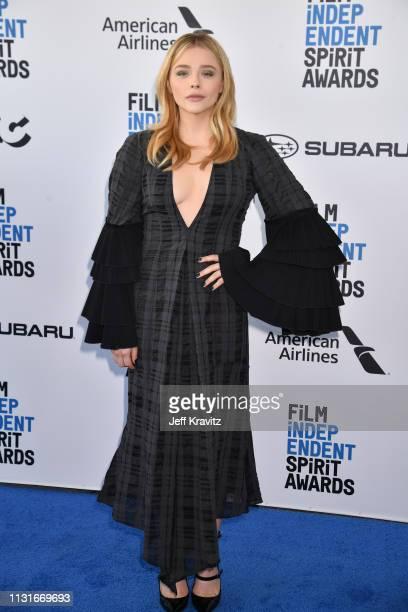 Chloe Grace Moretz attends the 2019 Film Independent Spirit Awards on February 23 2019 in Santa Monica California