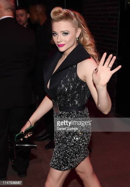 Chloe Grace Moretz attends the 2019 Met Gala Boom Boom Afterparty at The Standard hotel on May 06 2019 in New York City