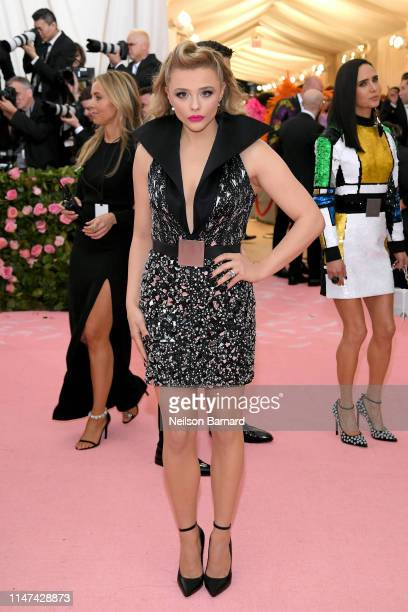 Chloe Grace Moretz attends The 2019 Met Gala Celebrating Camp Notes on Fashion at Metropolitan Museum of Art on May 06 2019 in New York City