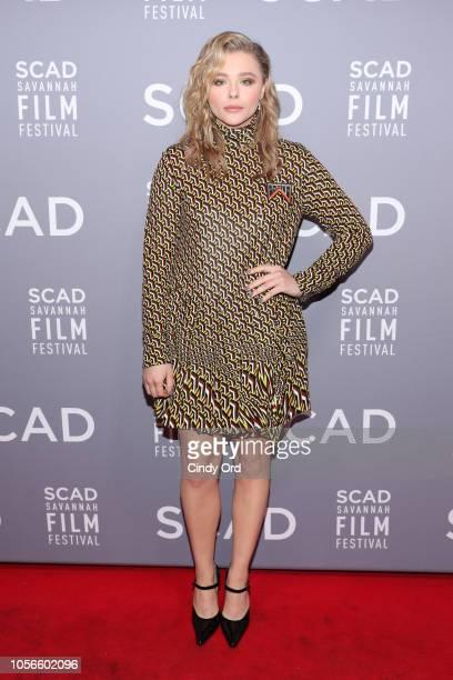 Chloe Grace Moretz attends the 21st SCAD Savannah Film Festival on November 2 2018 in Savannah Georgia