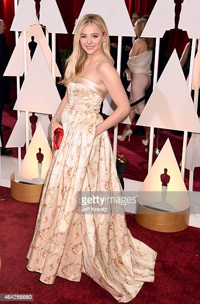 Chloe Grace Moretz attends the 87th Annual Academy Awards at Hollywood Highland Center on February 22 2015 in Hollywood California