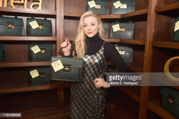 """Chloe Grace Moretz attends the after party for the premiere of Focus Features' """"Greta"""" at on February 26, 2019 in Hollywood, California."""