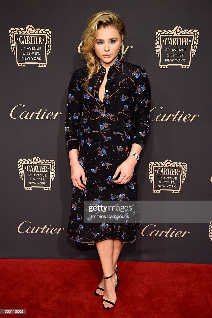 Chloe Grace Moretz attends the Cartier Fifth Avenue Grand Reopening Event at the Cartier Mansion on September 7, 2016 in New York City.