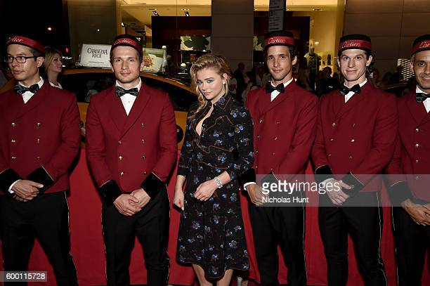 Chloe Grace Moretz attends the Cartier Fifth Avenue Grand Reopening Event at the Cartier Mansion on September 7 2016 in New York City