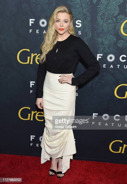 """Chloe Grace Moretz attends the Premiere Of Focus Features' """"Greta"""" at ArcLight Hollywood on February 26, 2019 in Hollywood, California."""
