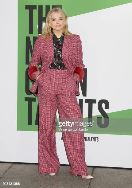 Chloe Grace Moretz attends the 'The Next Green Talents' event during Milan Fashion Week Fall/Winter 2018/19 on February 22 2018 in Milan Italy