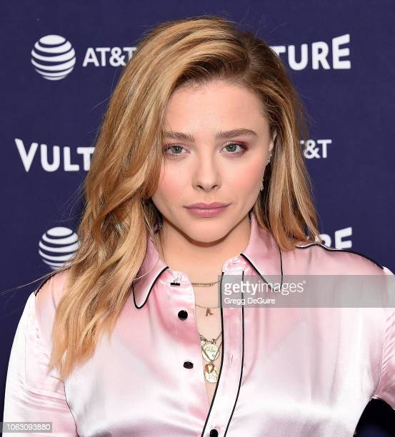Chloe Grace Moretz attends the Vulture Festival Los Angeles 2018 at The Hollywood Roosevelt Hotel on November 17 2018 in Los Angeles California