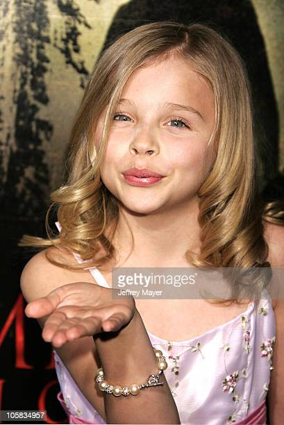 Chloe Grace Moretz during 'The Amityville Horror' World Premiere Arrivals at Arclight Cinerama Dome in Hollywood California United States