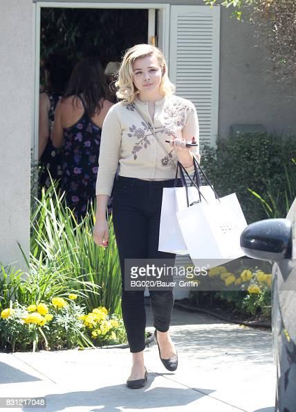 Chloe Grace Moretz is seen on August 13, 2017 in Los ...