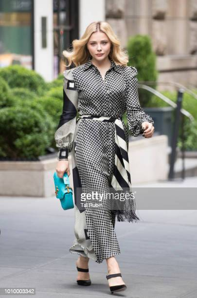 Chloe Grace Moretz is seen on August 2 2018 in New York City
