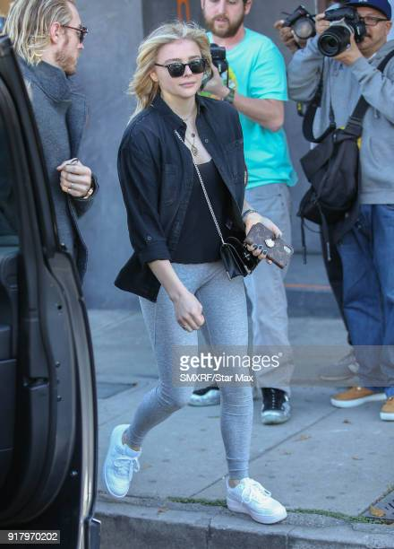 Chloe Grace Moretz is seen on February 13 2018 in Los Angeles California