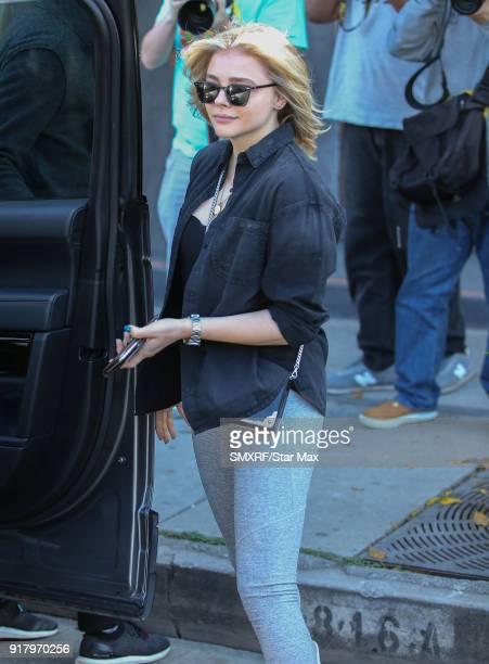 Chloe Grace Moretz is seen on February 13 2018 in Los Angeles California