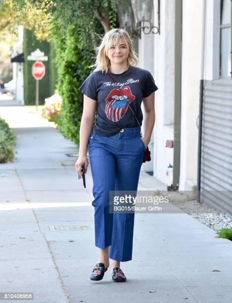 Chloe Grace Moretz is seen on July 07 2017 in Los Angeles California