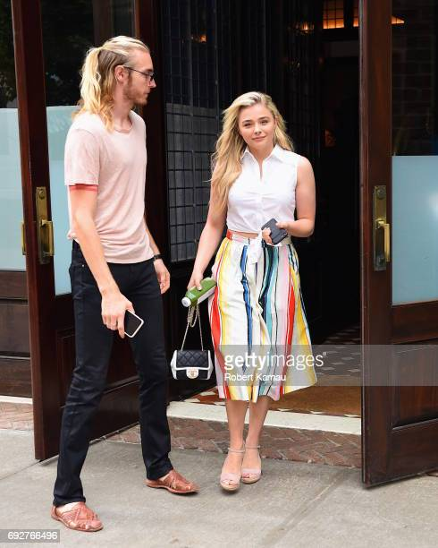 Chloe Grace Moretz seen out in Manhattan on June 5, 2017 in New York City.