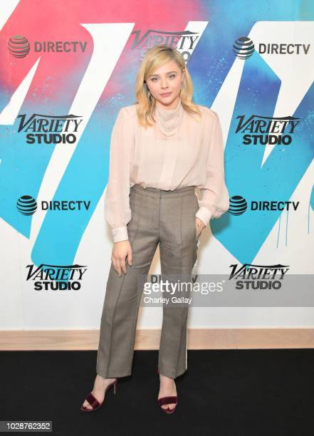 Chloe Grace Moretz stops by DIRECTV House presented by ATT during Toronto International Film Festival 2018 at Momofuku Toronto on September 7 2018 in...