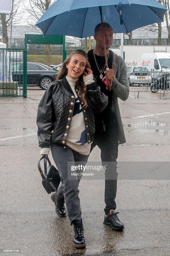Jeremy Meeks And Chloe Green Sighting In Paris  -  January 21