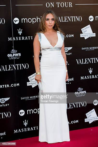 Chloe Green attends a gala dinner and auction to celebate the end of the Cash Rocket tour at Natural History Museum on June 8 2014 in London England