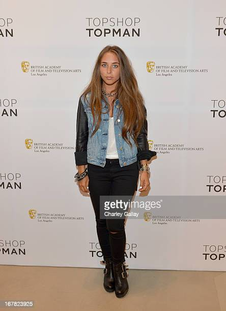Chloe Green attends BAFTA Los Angeles and Sir Philip Green Celebrate the British New Wave at Topshop Topman at The Grove on April 30 2013 in Los...