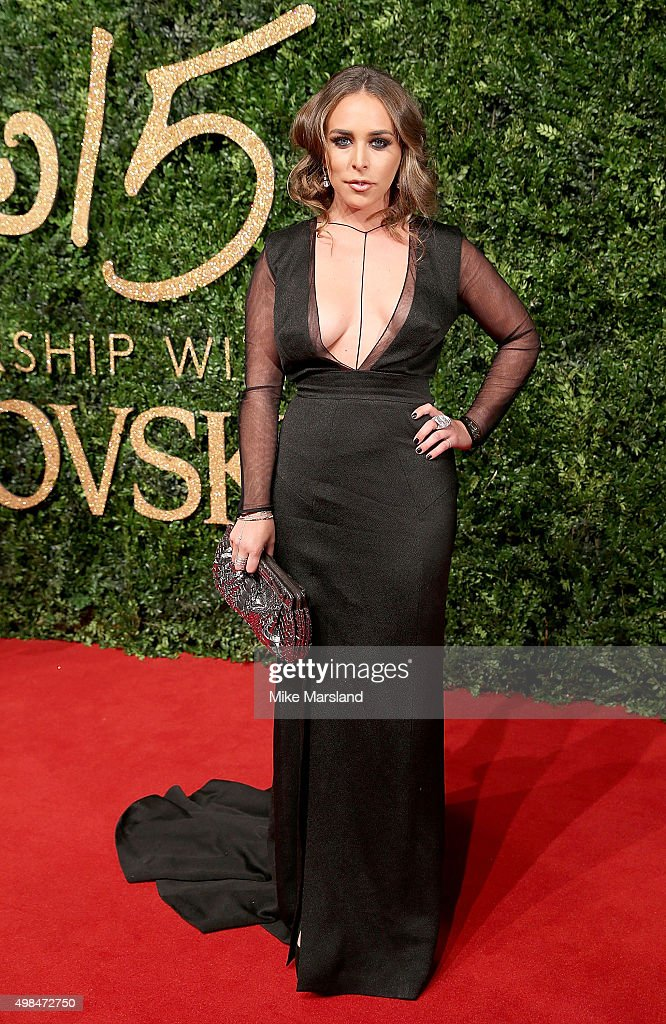 Chloe Green attends the British Fashion Awards 2015 at London Coliseum on November 23, 2015 in London, England.