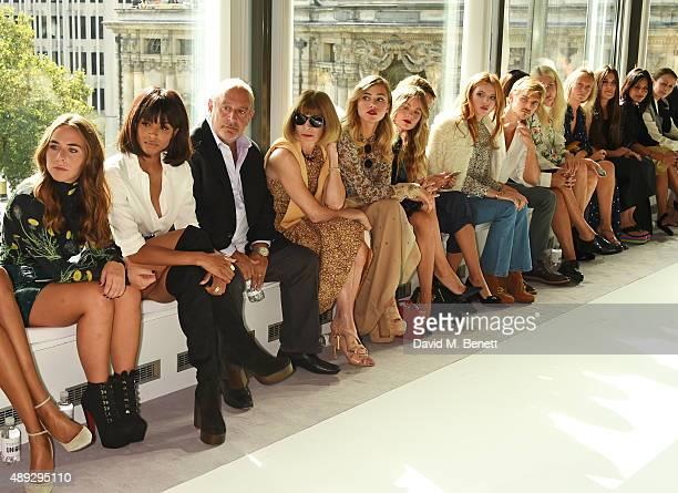 Chloe Green, Ciara, Sir Philip Green, Anna Wintour, Suki Waterhouse, Cressida Bonas, Alexa Chung, Bella Thorne, Brandon Green, Natalie Massenet,...