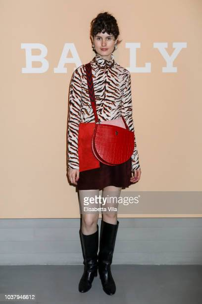 Chloe Hill attended the Bally Spring Summer 2019 Press Presentation during Milan Fashion Week on September 22 2018 in Milan Italy