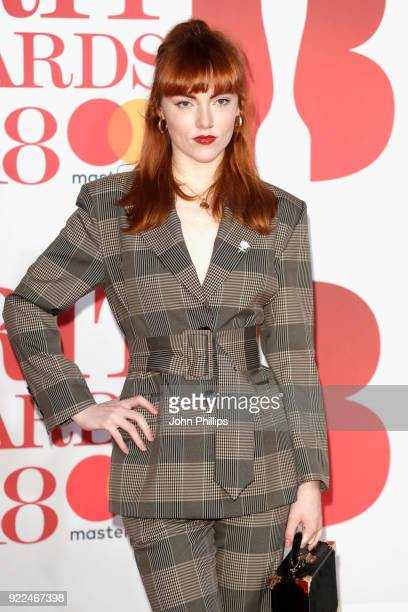 AWARDS 2018*** Chloe Howl attends The BRIT Awards 2018 held at The O2 Arena on February 21 2018 in London England