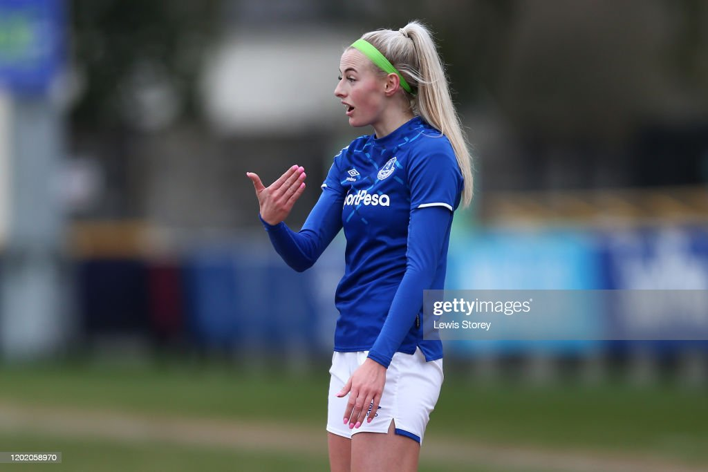 Everton FC v London Bee's - Women's FA Cup: Fourth Round : News Photo