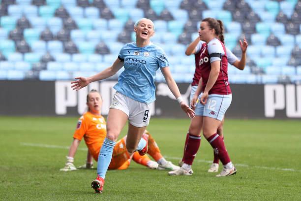 GBR: Manchester City Women v Aston Villa Women: Vitality Women's FA Cup Fourth Round