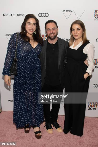 Chloe Kent Brandon Perlman and guest attend the Whitney Museum Celebrates The 2018 Annual Gala And Studio Party at The Whitney Museum of American Art...