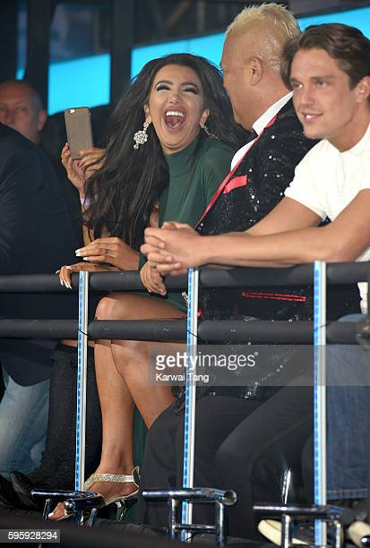 Chloe Khan attends the final of Celebrity Big Brother 2016 at Elstree Studios on August 26 2016 in Borehamwood England