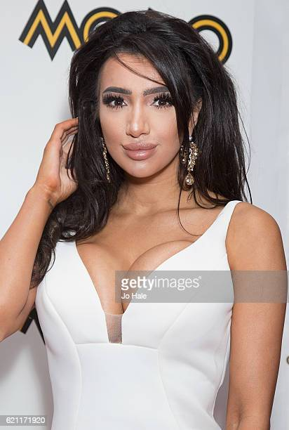 Chloe Khan attends the Mobo Awards 2016 at the SSE Hydro on November 4 attend the Mobo Awards at the The SSE Hydro on November 4 2016 in Glasgow...