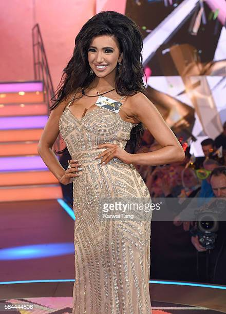 Chloe Khan enters the Big Brother House for the Celebrity Big Brother launch at Elstree Studios on July 28 2016 in Borehamwood England