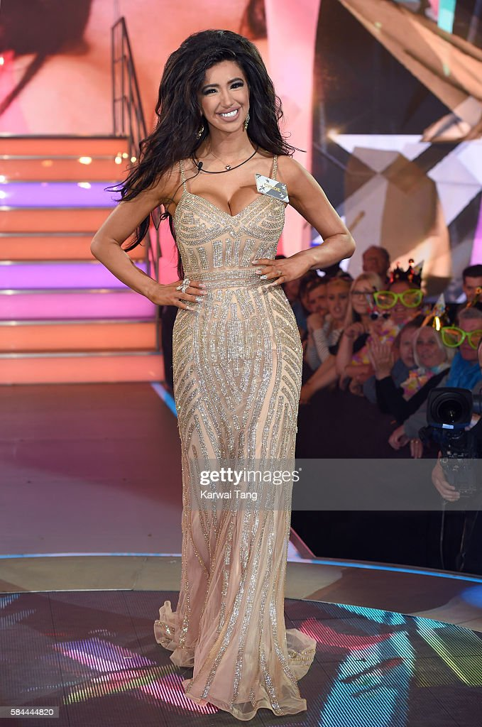 Chloe Khan enters the Big Brother House for the Celebrity Big Brother launch at Elstree Studios on July 28, 2016 in Borehamwood, England.