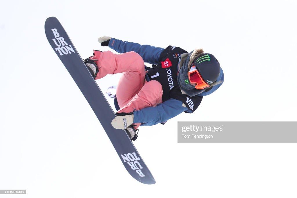 UT: FIS Snowboard World Championships - Men's and Ladies' Halfpipe