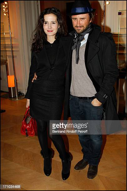 Chloe Lambert Alexandre Brasseur at Bal De La Truffe Organised By Lancel At Hotel Salomon De Rothschild In Paris