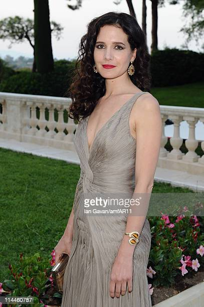 Chloe Lambert attends amfAR's Cinema Against AIDS Gala during the 64th Annual Cannes Film Festival at Hotel Du Cap on May 19 2011 in Antibes France