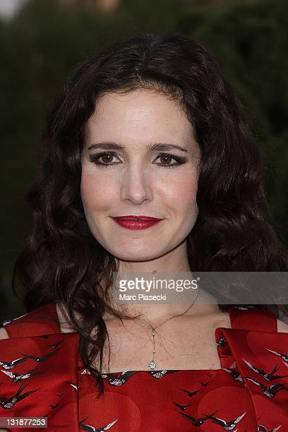 Chloe Lambert attends the 25th Moliere Awards Ceremony on April 17 2011 in Creteil France